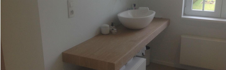 Renovatie van een badkamer te Beverst - Ecolep